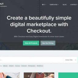 Loja Virtual Marketplace Produtos Digitais WordPress Responsivo 935