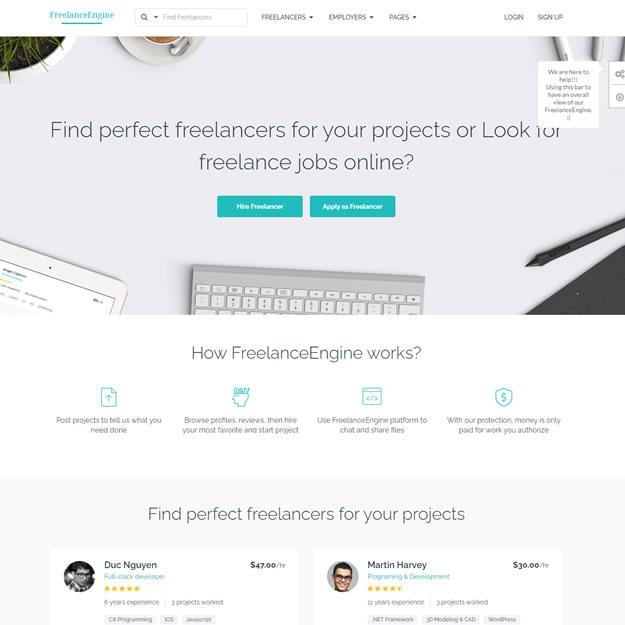 Loja Virtual Freelancer Marketplace