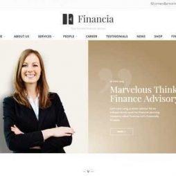 Criar Site Financeira Consultoria Wordpress Responsivo 961