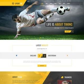 Criar Site Futebol