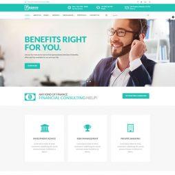 Criar Site Financeira Consultoria Joomla Responsivo 964 v1