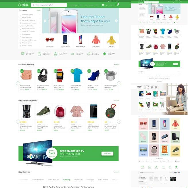Loja Virtual Afiliados Marketplace WordPress Responsivo 933 S