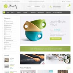 Loja Virtual Marketplace WordPress Responsivo 941