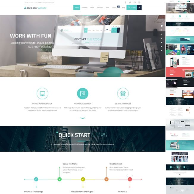 Template Empresa WordPress Responsivo 931 v1