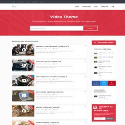 Criar Site Vídeos