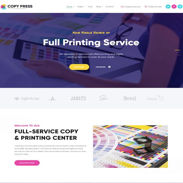 Criar Site Gráfica Copiadora