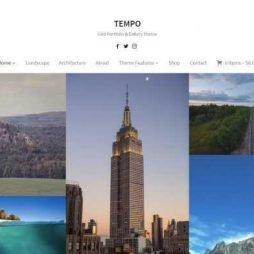 Criar Site Fotógrafia Portfólio WordPress Responsivo 982