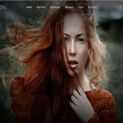 Criar Site Fotografia Portfólio