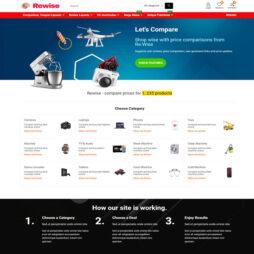 Criar Site Comparador Preços