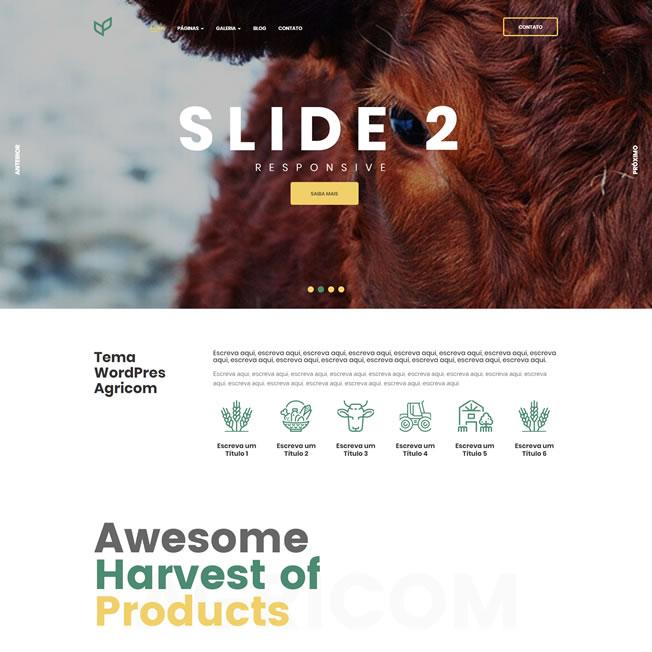 Criar Site Agricultura