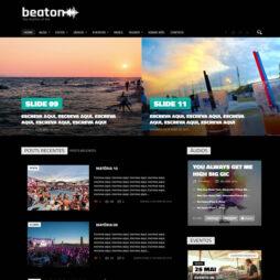 Criar Site Música Banda