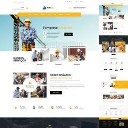 Criar Site Construtora