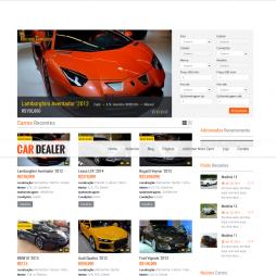 Criar Site Loja de Automóveis Carros WordPress Responsivo Português 1004