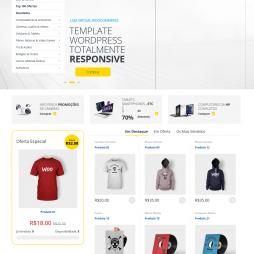 Criar Loja Virtual WordPress Responsivo Português 1019