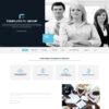 Criar Site Empresa Consultoria WordPress Responsivo Português 1022 S