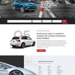 Criar Site Automóveis Carros WordPress Responsivo Português 1025