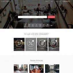 Criar Site Guia Comercial WordPress Responsivo Português 1051 v1