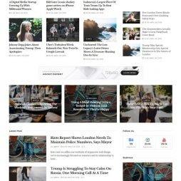Criar Site Notícias WordPress Responsivo 1042 S
