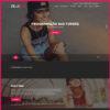 Criar Site Músico Banda WordPress Responsivo Português 1005