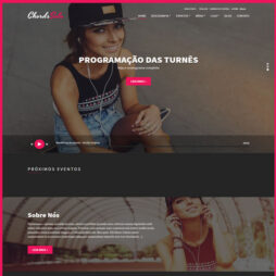 Criar Site Músico Banda