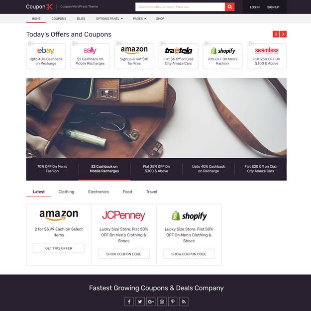 Criar Site Cupom Desconto