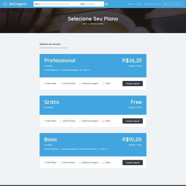 Criar Site Guia Comercial WordPress Responsivo Português 1068 S v5