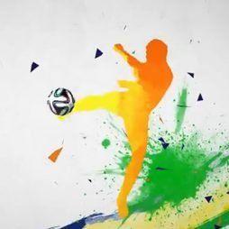 Intro Futebol Bola Introdução Vinheta Youtube Canal E Vídeos 228
