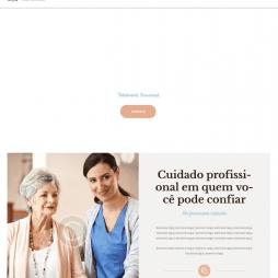 Criar Site Clinica de Repouso WordPress Responsivo Português 1086