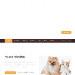 Criar Site de PetShop WordPress Responsivo Português 1089