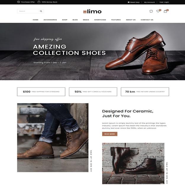 Loja Virtual Sapatos