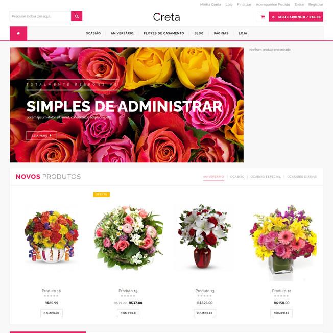 Loja Virtual Floricultura