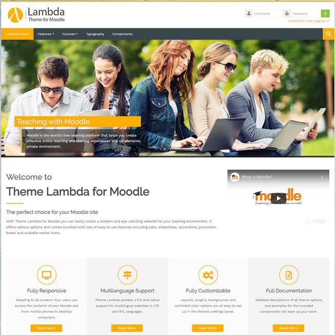 Site Pronto Template Moodle Wordpress Responsivo 1112 v1