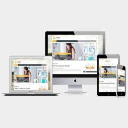 Site Pronto Template Moodle Wordpress Responsivo 1112 v10