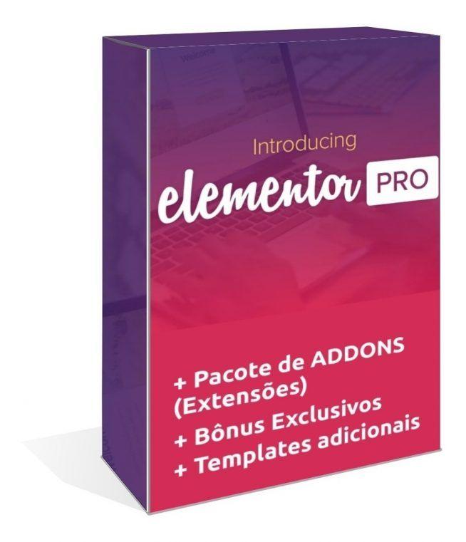 Elementor Pro Wordpress Plugin + Addons (extensões) 1106