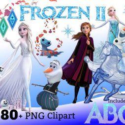 Banco de Imagens 300 Fotos da Frozen em PNG transparente em alta resolução