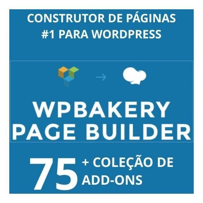 Wpbakery Plugin Wordpress Premium + 75 Addons Atualizados 1110