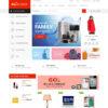 Loja Virtual Eletrônicos Móveis WordPress Responsivo 1114