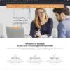 Criar Site Empresa Consultoria WordPress Responsivo 1118 S