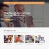 Criar Site Empresa Consultoria WordPress Responsivo 1119 S
