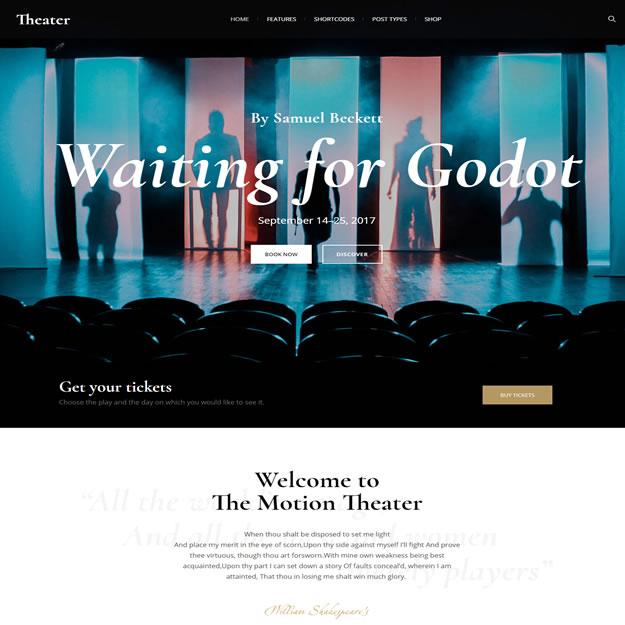 Criar Site Teatro