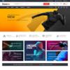 Loja Virtual Roupas Esporte WordPress Responsivo 1134 S