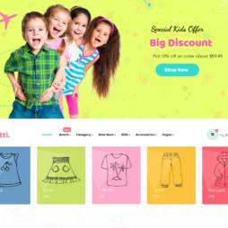 Criar Loja Virtual Infantil Shopify Responsivo 1135
