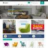 Loja Virtual Móveis WordPress Responsivo 1137