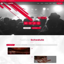 Criar Site Eventos Ingressos