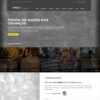 Criar Site Ong Português WordPress Responsivo 1150 S