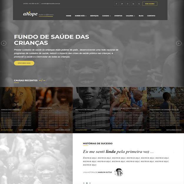 Criar Site Ong