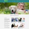 Criar Site Animais Português WordPress Responsivo 1151