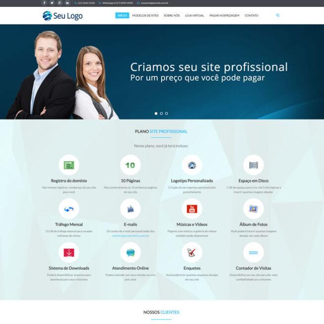 Criar Revenda de Sites Joomla Português Responsivo 500