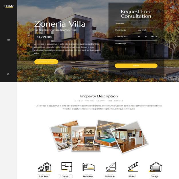 Criar Site Imóveis de Luxo