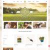 Criar Site Fazenda Agricultura WordPress Responsivo 1181